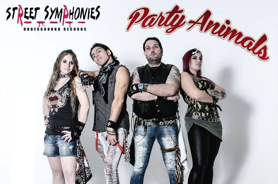 Party Animals firmano per Street Symphonies Records