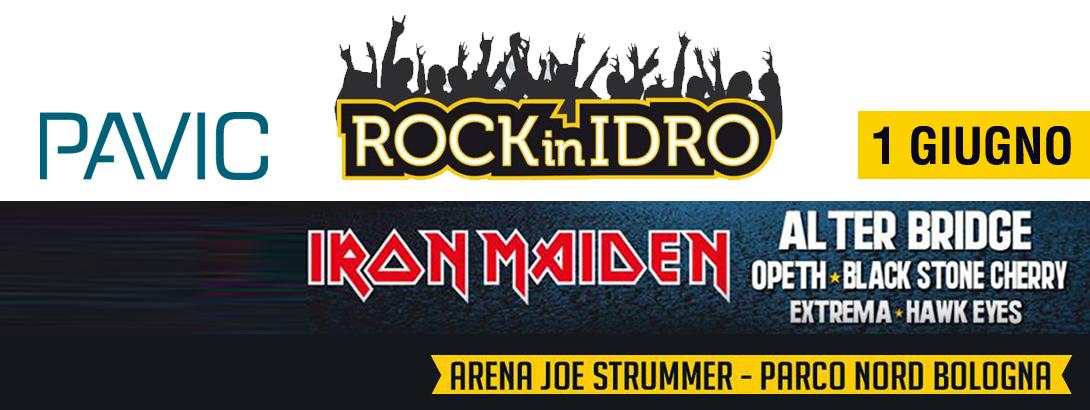 Pavic a Rock In Idro 2014, domenica 1 giugno