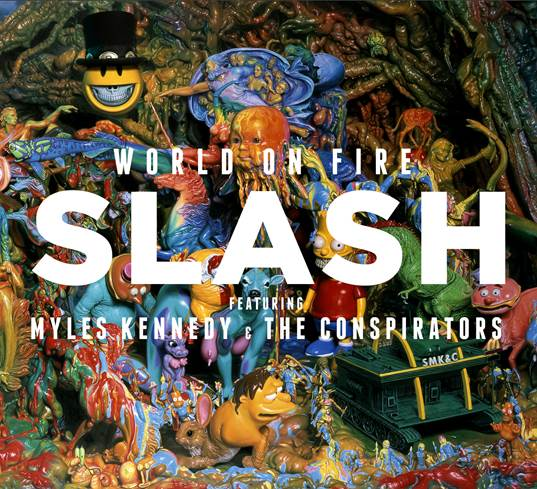 "Slash: lyric video di ""World On Fire"""
