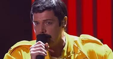 Sebastian Bach diventa Freddie Mercury