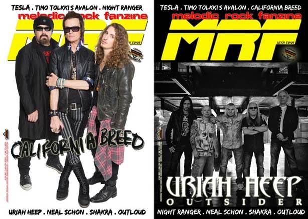 Nuovo numero di Melodic Rock Fanzine