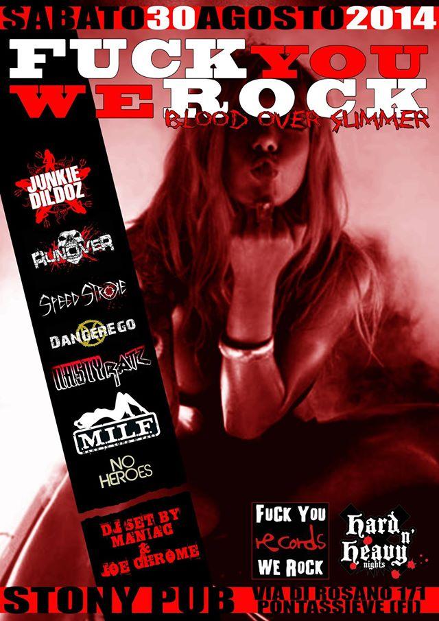 In arrivo la settima edizione del Fuck You We Rock Festival