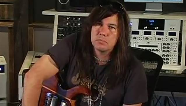 Mark Slaughter in studio con Michael Wagener