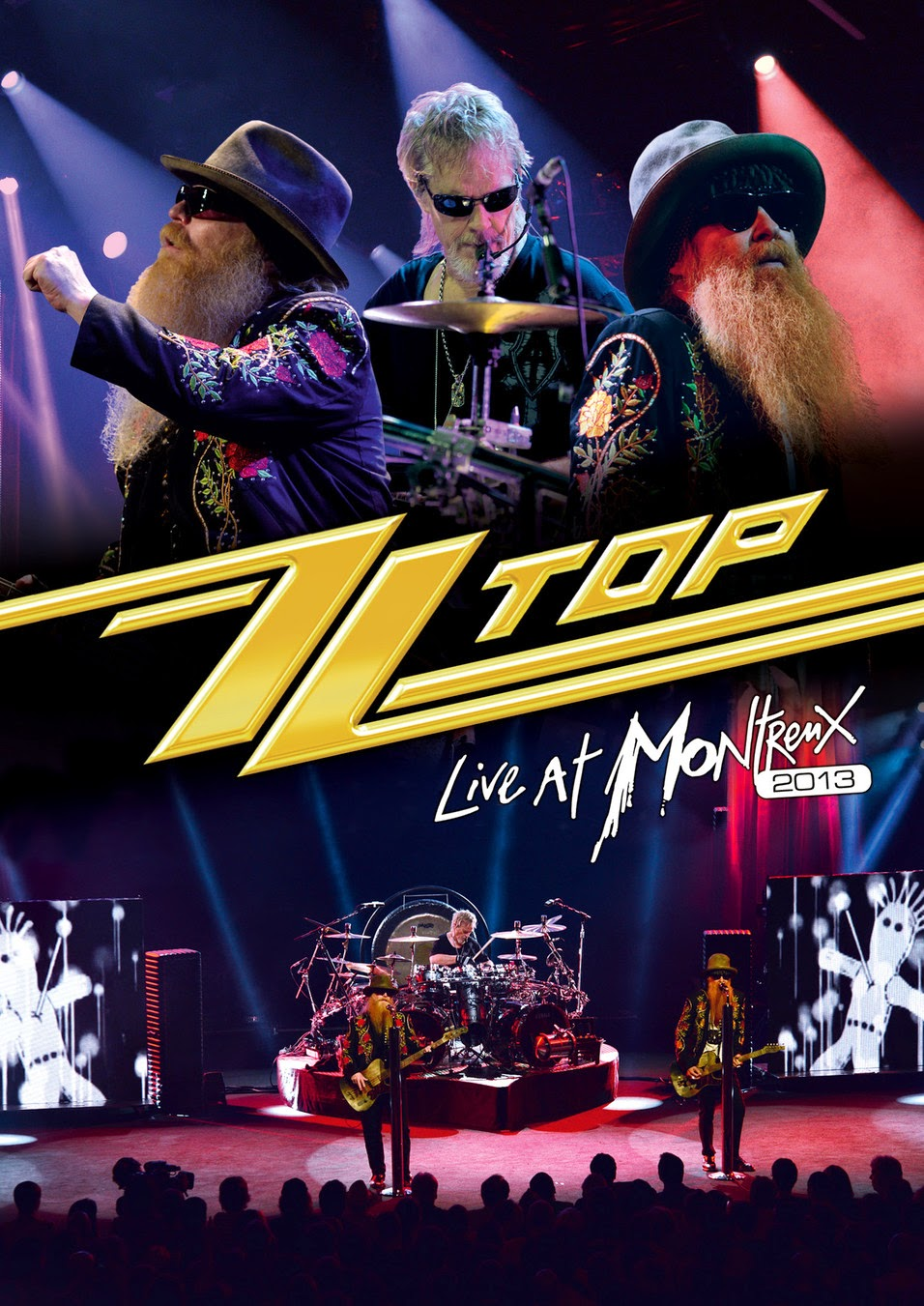 "ZZ Top: video da ""Live At Montreux 2013″"