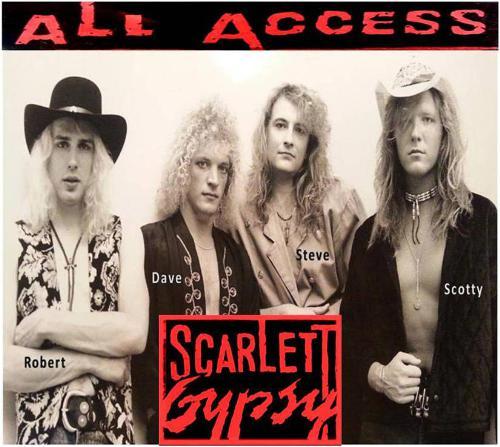 Scarlett Gypsy: fuori il debutto dei glam rocker americani