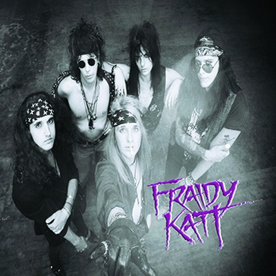 Fuori l'album dei Fraidy Katt di Stacey Blades