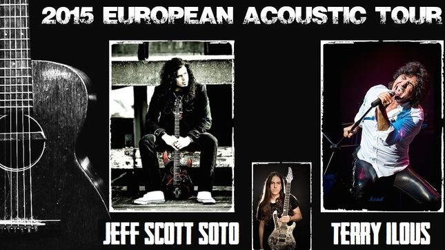 Jeff Scott Soto e Terry Ilous: tour acustico