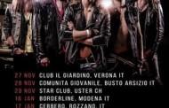 Bulletrain: tornano in Italia per tre date