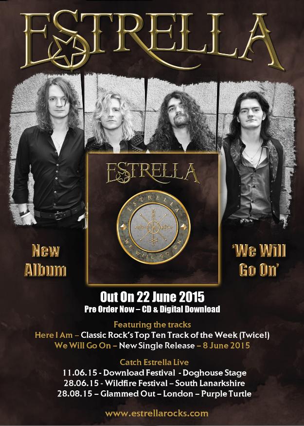 Estrella: nuovo disco ed esubizione al Download