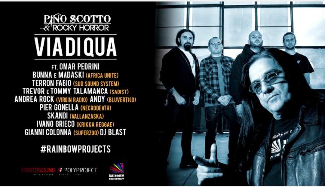 Pino Scotto & Friends: nuovo progetto