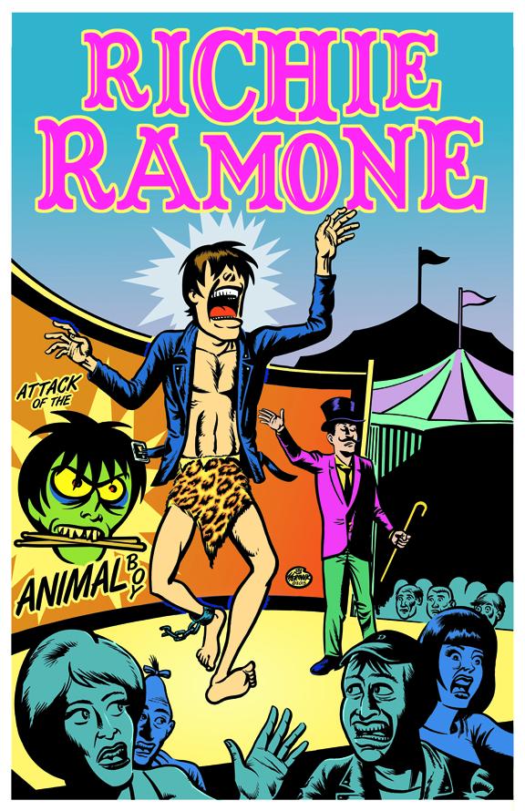 Richie Ramone in Italia a marzo