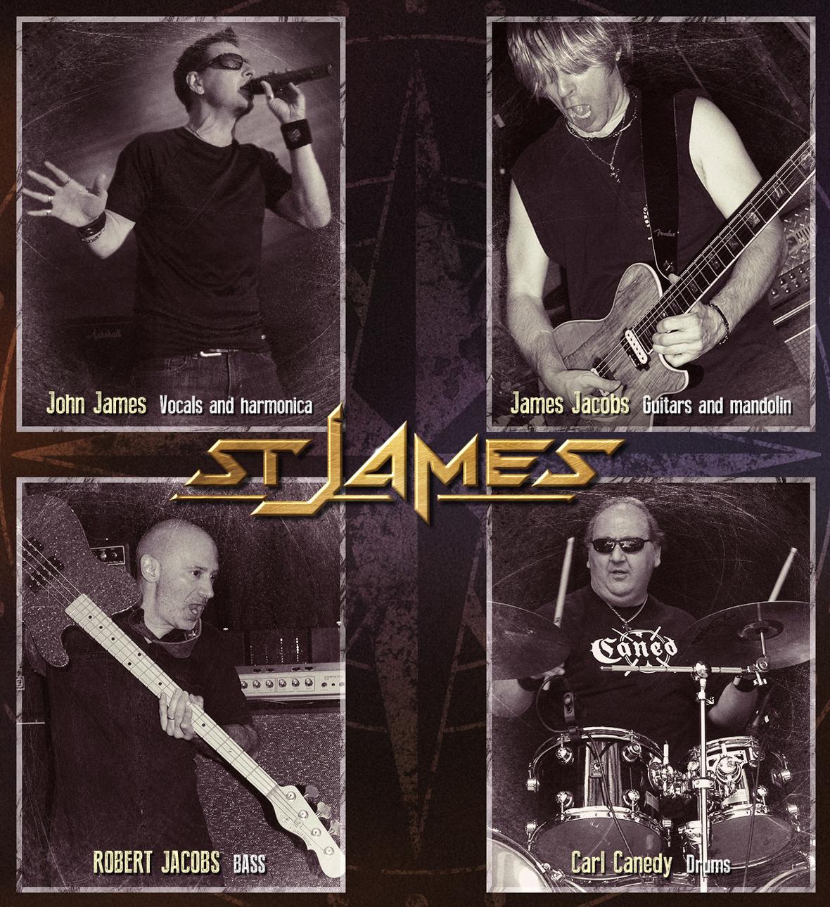 St. James: nuovo disco per i melodic rocker americani