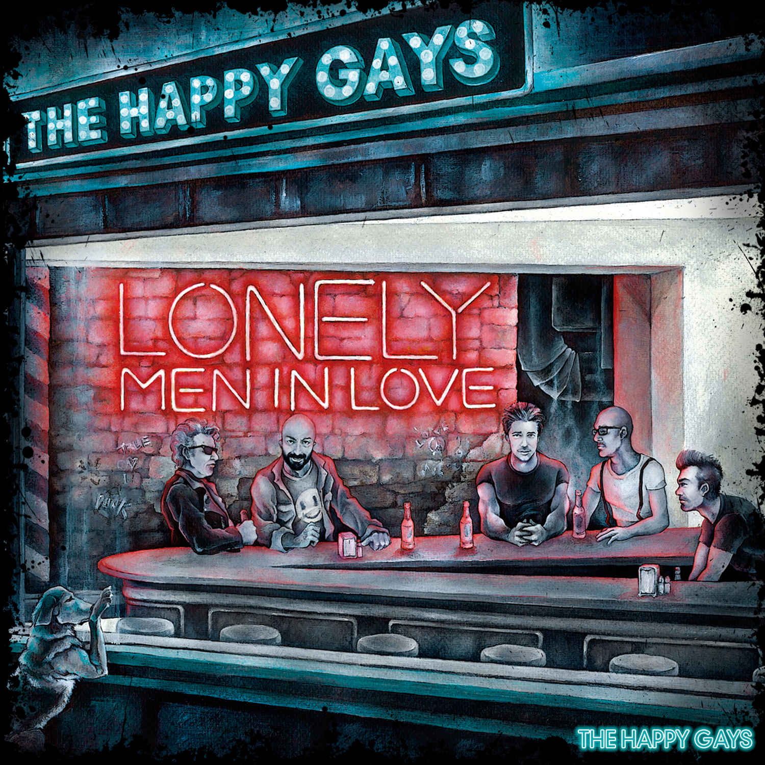 """The Happy Gays: nuovo disco """"Lonely Men In Love"""""""