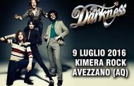 Darkness: il 9 luglio l'unica data italiana