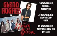 Glenn Hughes e Living Colour: 3 date in Italia a novembre