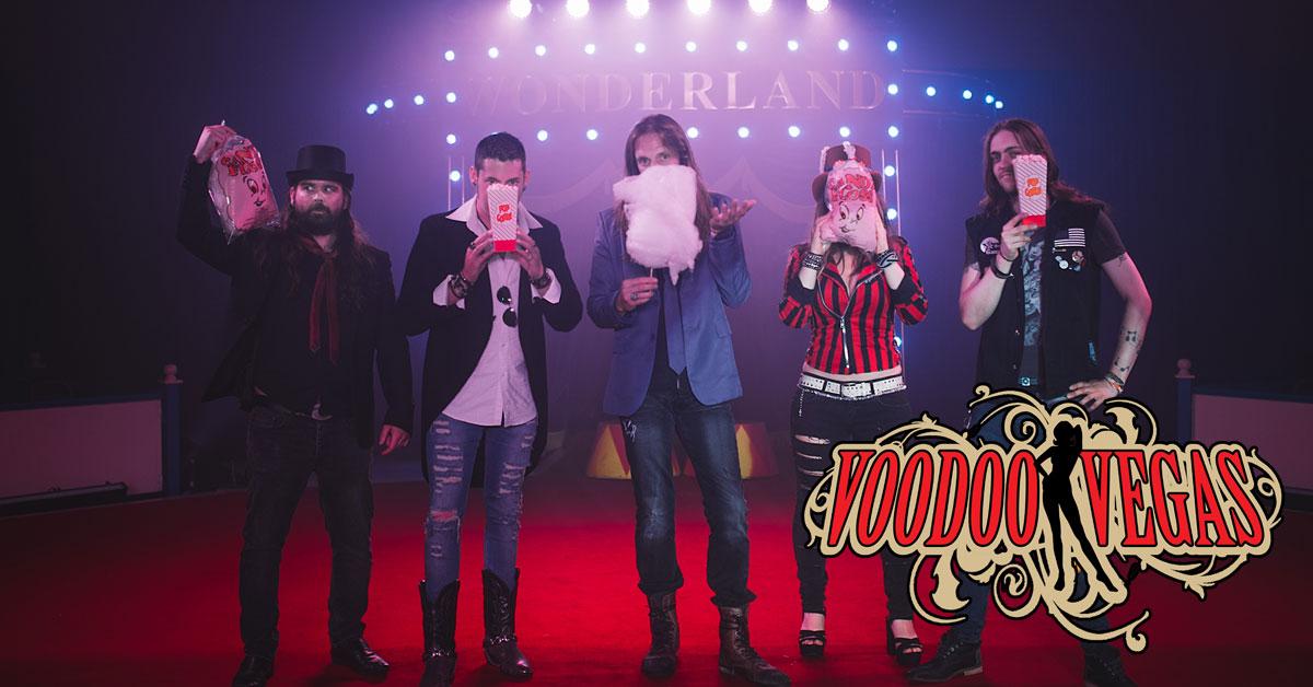 "I Voodoo Vegas annunciano l'uscita di ""Freak Show Candy Floss"""