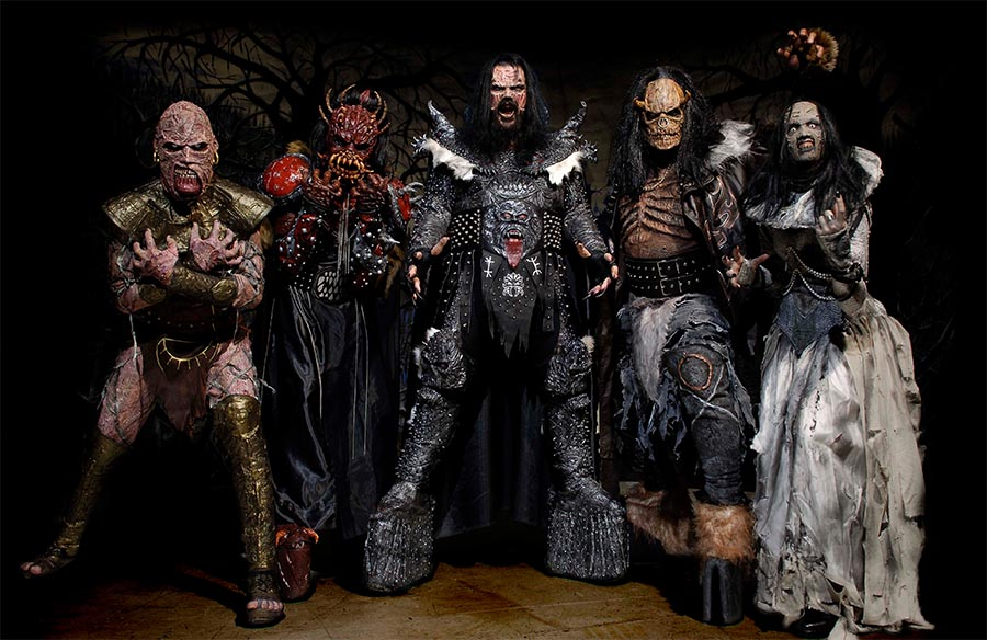 Lordi e Shiraz Lane: tour italiano Novembere 2016