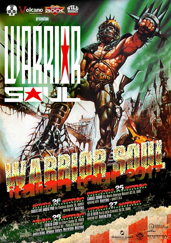 Tour italiano per i Warrior Soul
