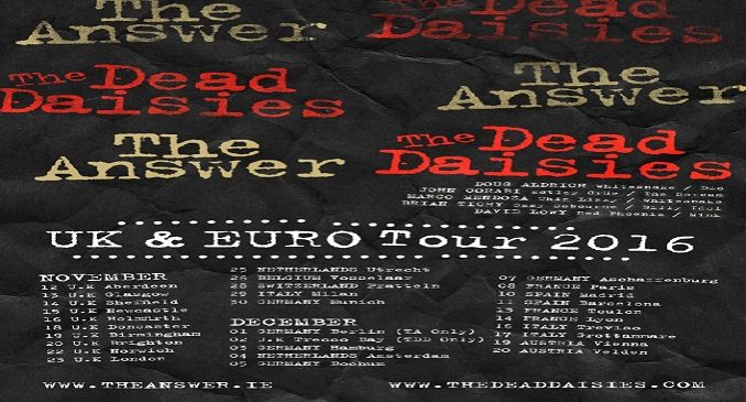 In arrivo in Italia The Answer e The Dead Daisies