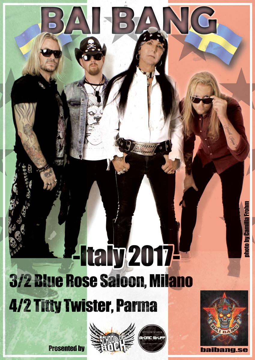 Bai Bang: due concerti in Italia