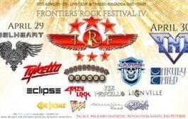 Frontiers Rock Festival IV: Live Club, Trezzo sull'Adda  (29-30 aprile 2017)