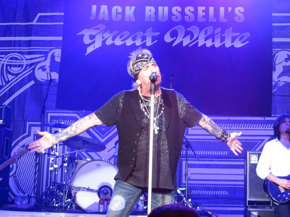 Jack Russell's Great White (English)