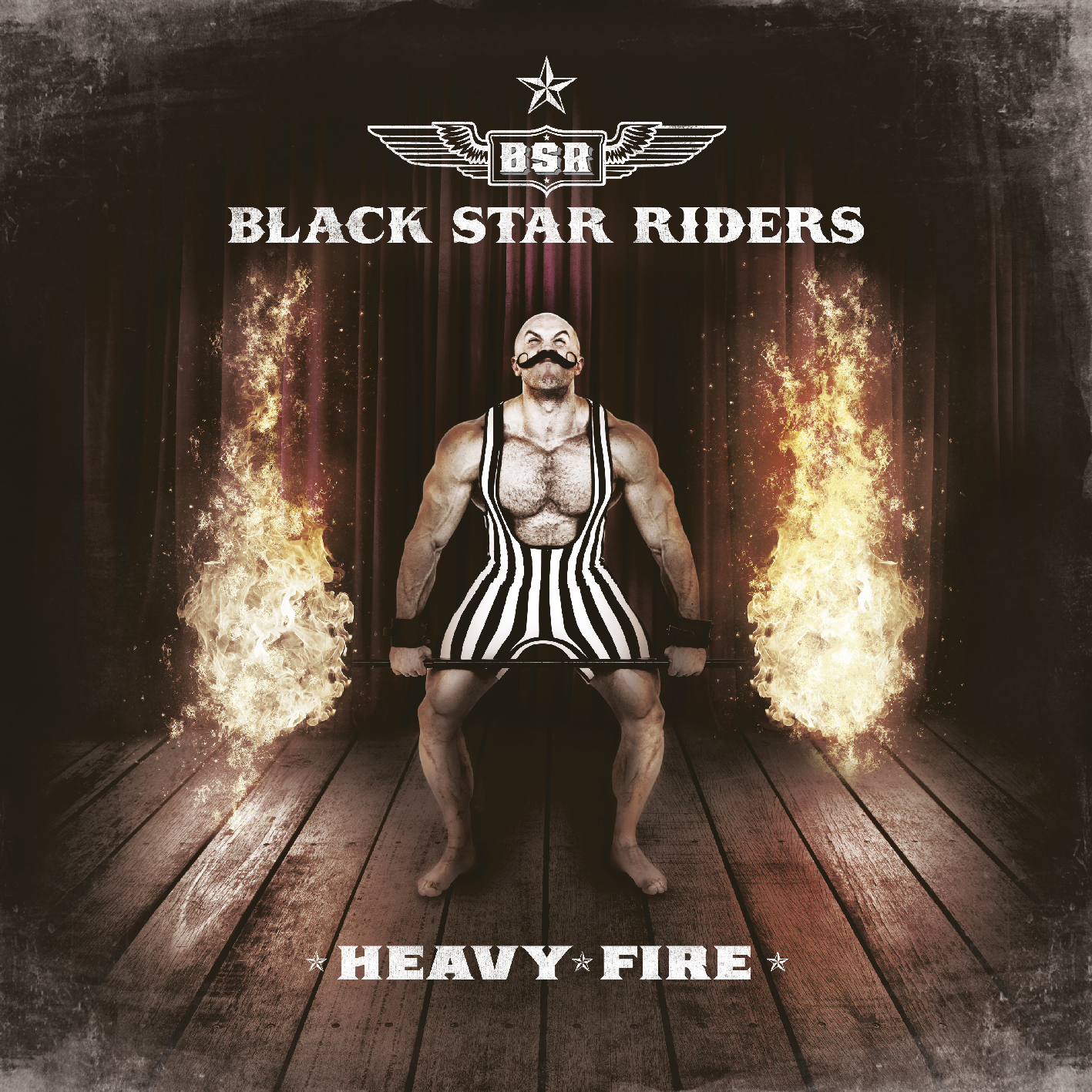 "Black Star Riders ""Heavy Fire"""