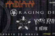 Midian Live Cremona: debutto dal vivo del primo album dei Raging Dead