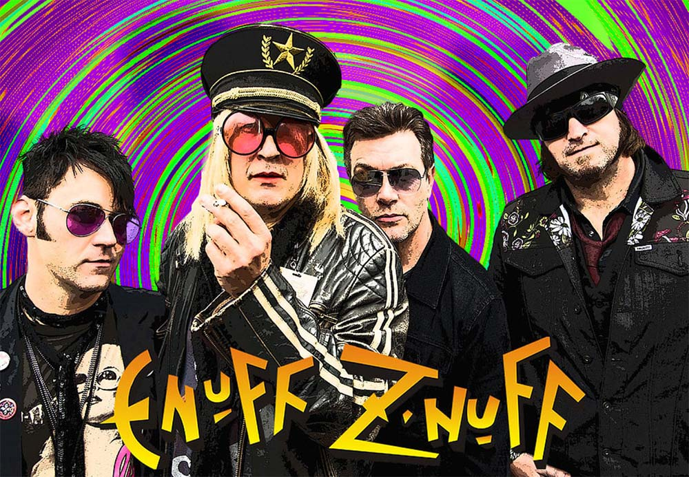 Enuff Z' Nuff e Venrez in tour in Italia