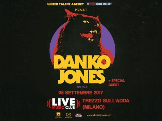 Danko Jones: un'unica data Italiana il prossimo settembre