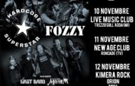 Hardcore Superstar e Fozzy a novembre in Italia