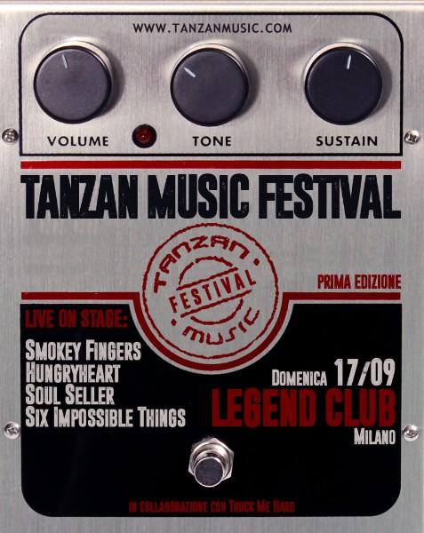 Tanzan Music Festival: domenica 17 Settembre la prima edizione