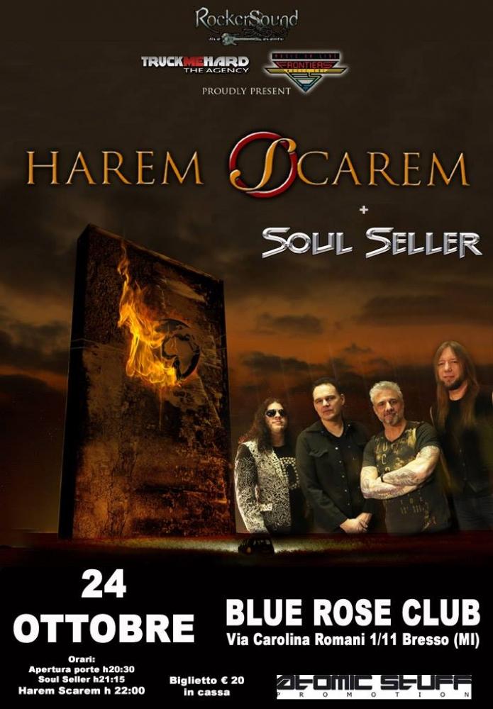 Harem Scarem e Soul Seller: una notte da collezionisti