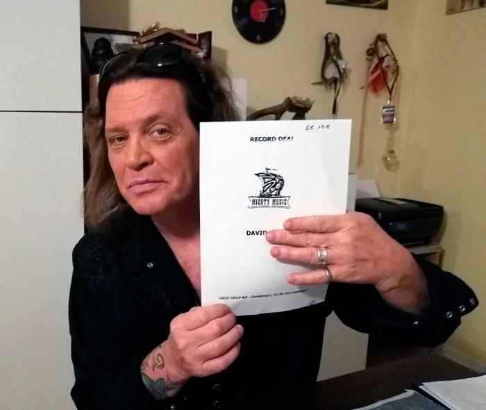 David Reece firma per la Mighty Music