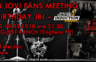 Ingresso Gratuito per il Bon Jovi Fans Meeting Happy Birthday