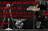 Ingresso Gratuito per il Bon Jovi Fans Meeting Happy Birthday