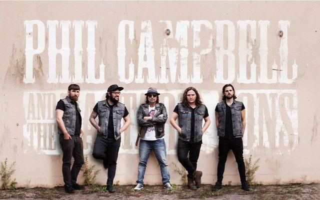 Phil Campbell & The Bastard Sons: inizia oggi il tour europeo