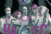 In frontman degli Hell In The Club pubblica una graphic novel