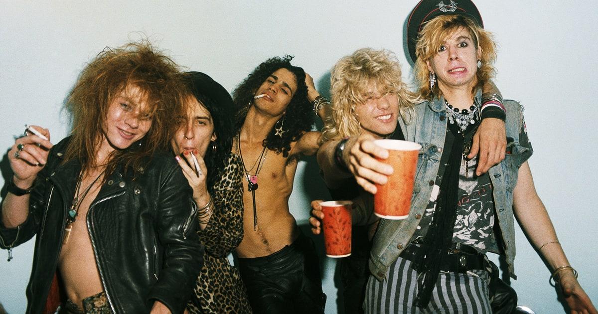 Guns N Roses 1987