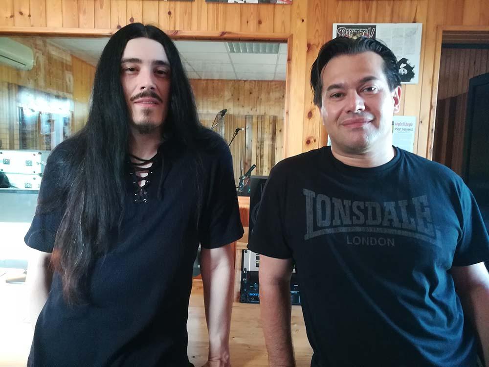 Stefano Gottardi e Oscar Burato