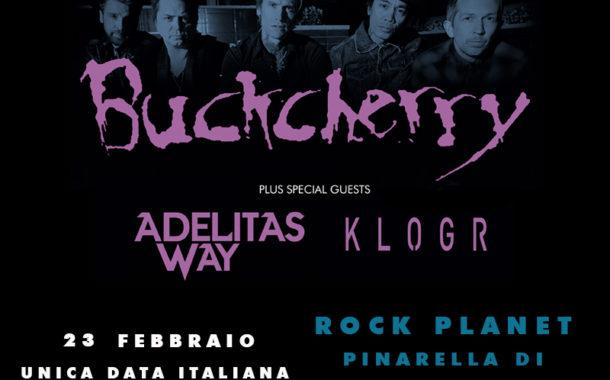 Buckcherry: la band in Italia a febbraio per un'unica data