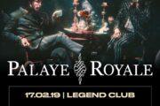 Arrivano in Italia i Palaye Royale