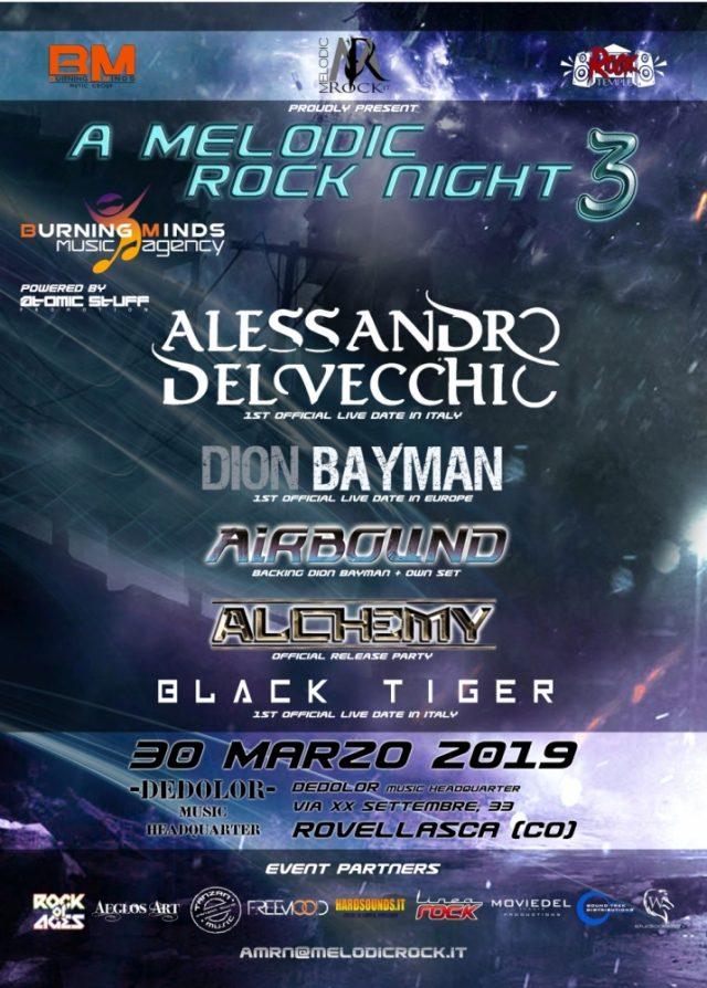 A Melodic Rock Night 3