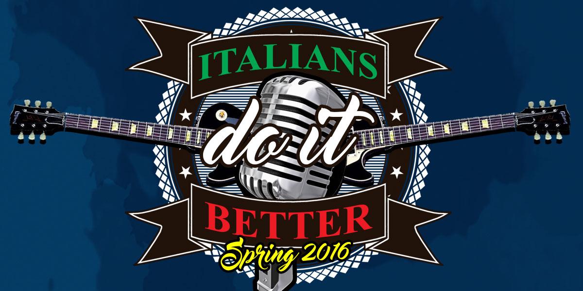 Italians Do it better Spring 2016