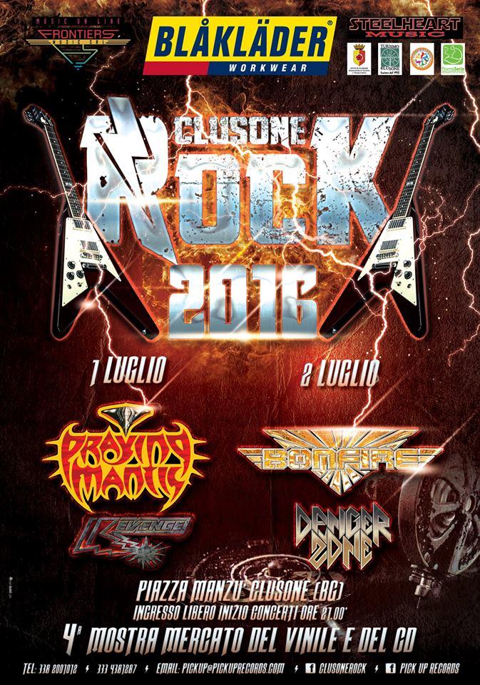Clusone Rock 2016