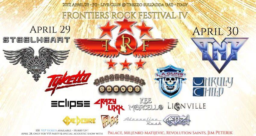 FRONTIERS ROCK FESTIVAL 2017