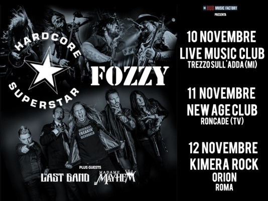 Hardcore Superstar e Fozzy