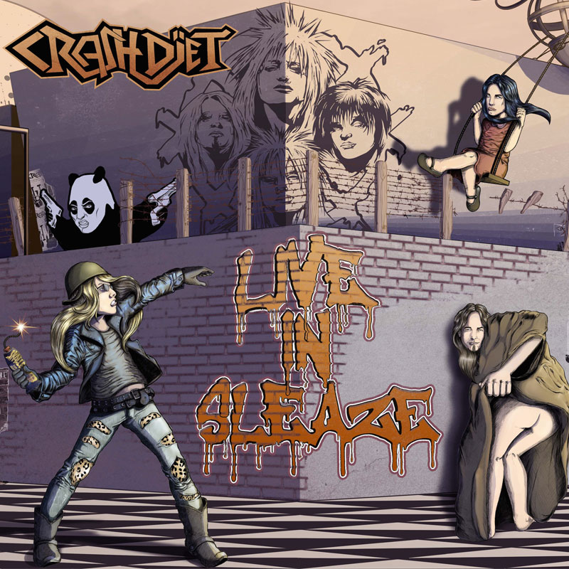Crashdïed - Live in sleaze