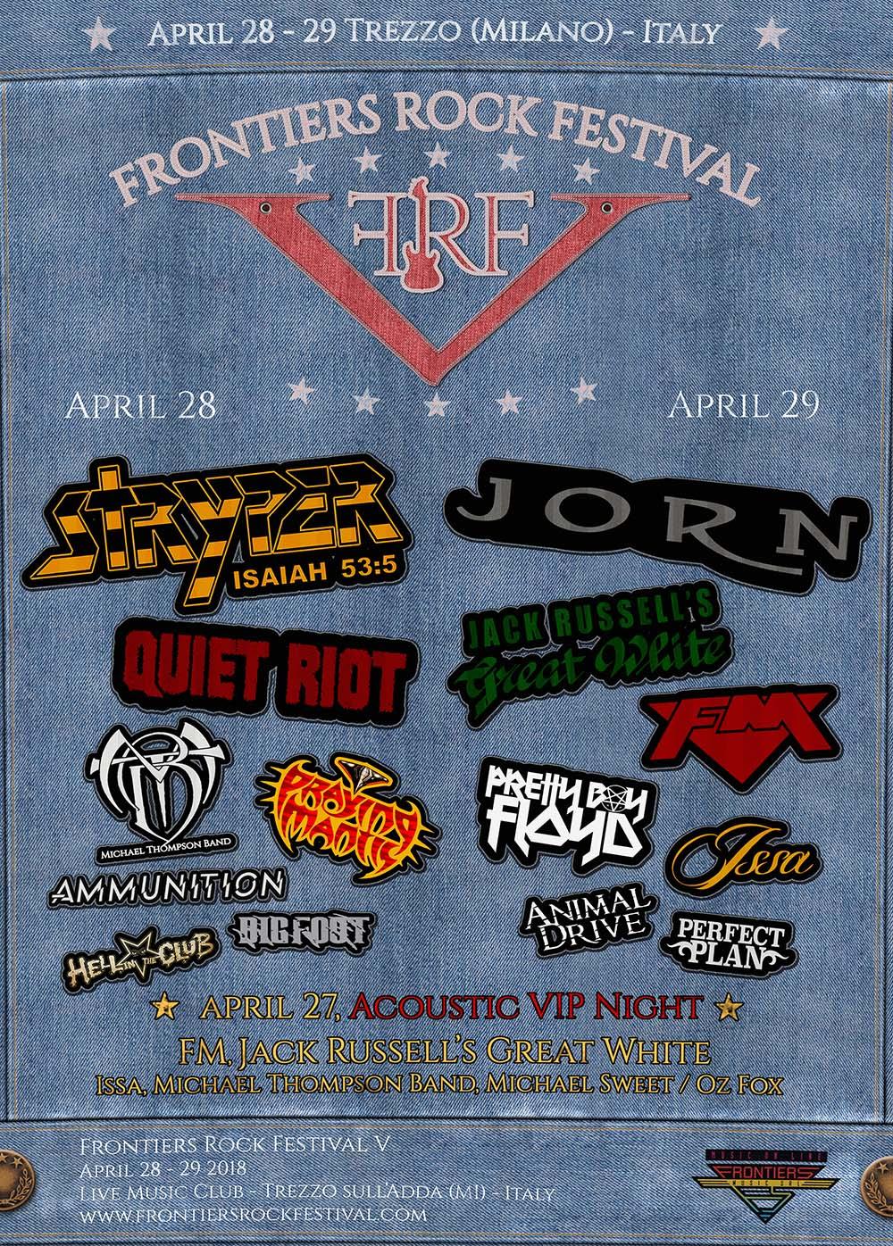 Frontiers Rock festival V