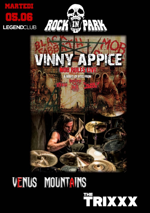 Rock In Park Vinny Appice